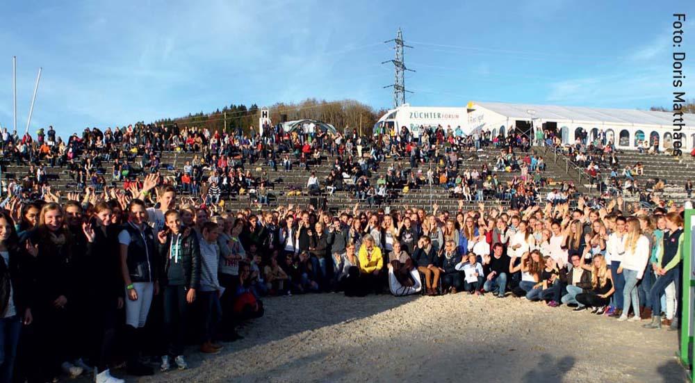 Von der Halle in die Arena: Das zweite 8er-Team-Finale in Baden-Württemberg sprengte mit über 1.500 Teilnehmern alle Erwartungen.