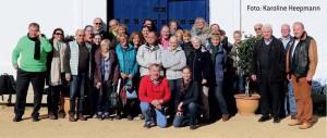 PM unterwegs – hier in Andalusien, wo sie sich unter südlicher Sonne in Gestüten und auf der Pferdemesse SICAB über iberische Pferde und Reitkunst informierten.