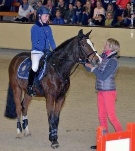 Der Sitz als Basis war das Thema von Mannschaftsolympiasiegerin Ingrid Klimke.