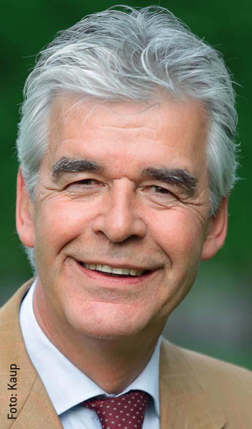 Theodor Leuchten - Vorsitzender des FN-Bereichs Zucht und Vize-Präsident der FN