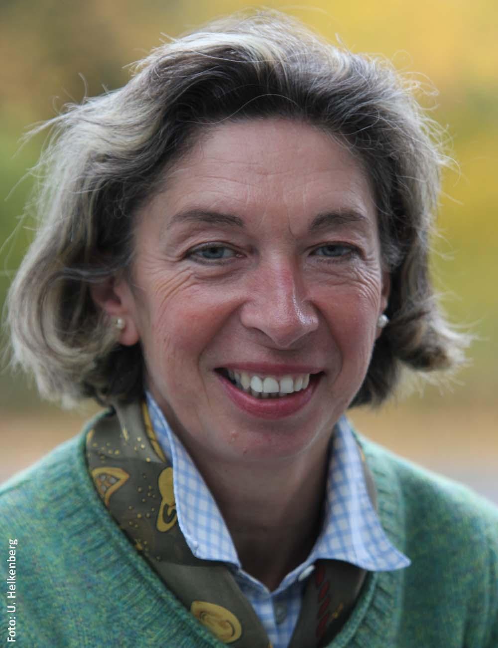 Eva Lempa-Röller, Referentin der FN-Abteilung Ausbildung, hat das Mentorensystem mit entwickelt.
