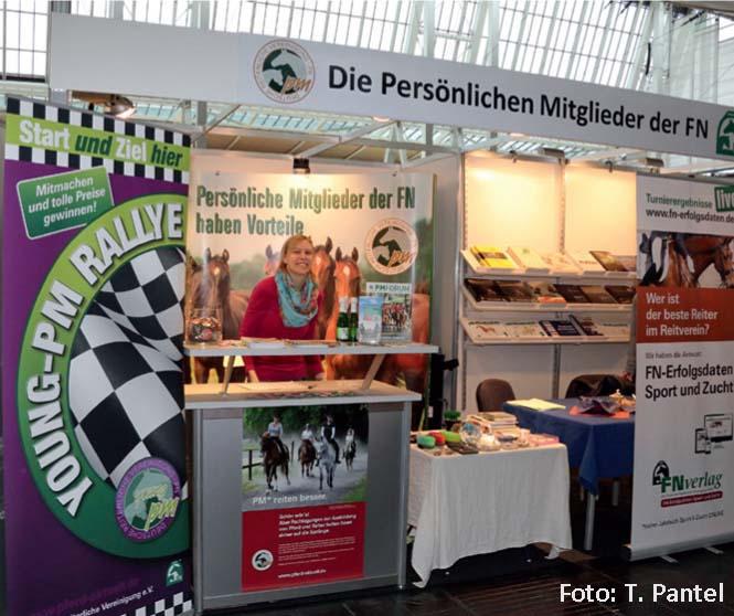 In Halle 26 war der Stand von PM und FNverlag Start und Ziel der Young PM-Rallye.