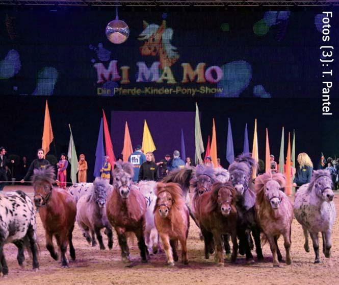 Pferde-KinderPonyshow MiMaMo auf der Pferd & Jagd
