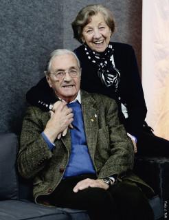 Langjährige Weggefährten und beste Freunde: die O-Dressurrichter Maria Günther und Heinz Schütte.
