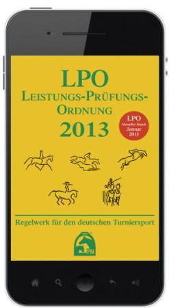 Ganz neu ist die LPO-App für iPhone und Android- Smartphone (Preis 9,99 Euro)