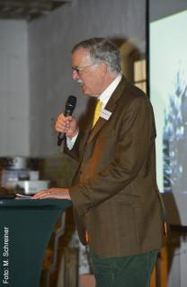 Pferdesport im Fernsehen war das Thema des ehemaligen ARD-Chefredakteurs Hartmann von der Tann.