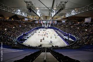 Munich Indoors in der Olympiahalle München: In diesem Jahr ist die Dressur wieder mit dabei.