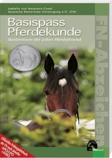 """Buch """"Basispass Pferdekunde – Basiswissen für jeden Pferdefreund"""" von Isabelle von Neumann-Cosel"""