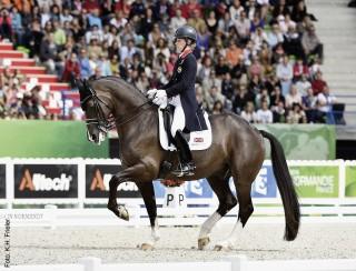 Olympiasiegerin und Weltmeisterin Charlotte Dujardin kommt zum CSIO nach Mannheim