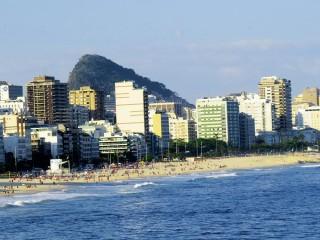 Der legendäre Strand von Ipanema. Foto: B. Comtois
