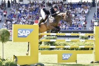 Er war der Beste im Finale: Guido Klatte mit Coolio. Foto: Stefan Lafrentz