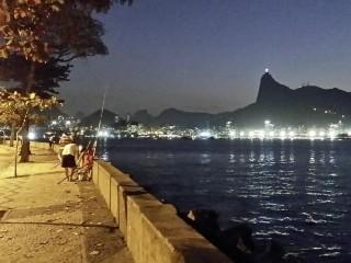 Rio by night, beim Test-Event war dieser Anblick natürlich einen Ausflug wert. Foto: Barbara Comtois