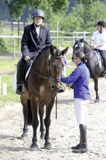 Auch die älteren Reiter mit Behinderung finden im Verein mit seinem sozialen Ansatz und dem großen Gemeinschaftssinn ein optimales Umfeld.