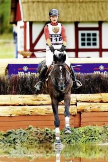 Vielseitigkeitsreiterin Julia Krajewski, hier auf Lost Prophecy, schreibt seit Jahren Trainingsprotokolle und hat ihre Diplomarbeit über das Ausdauertraining von Vielseitigkeitspferden geschrieben. Foto: J. Toffi