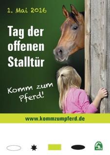 Tag der offenen Stalltür - Komm zum Pferd