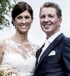 Nun auch offiziell ein Paar: Simone und Peter Teeuwen. Foto: privat
